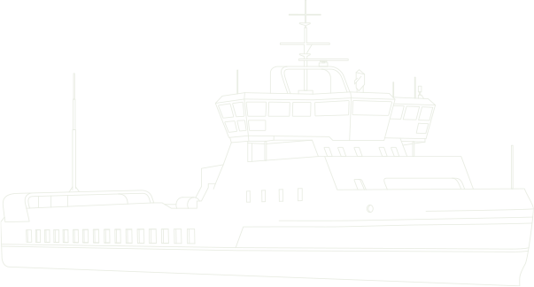 wireframe of ship